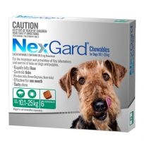 NexGard Medium Dog Chewables 6 Pack
