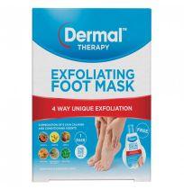 Dermal Therapy Exfoliating Foot Mask 1 Pair