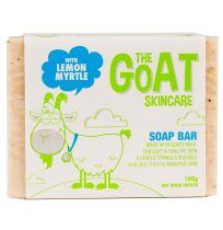 The Goat Skincare Soap Bar with Lemon Myrtle 100g
