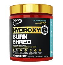 BSC HydroxyBurn Shred Neuro-Thermogenic 300g Blue Lemonade
