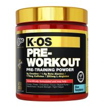 BSC Body Science K-OS Pre-Workout Powder Blue Raspberry 180g