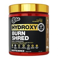 BSC HydroxyBurn Shred Neuro-Thermogenic 300g Cola