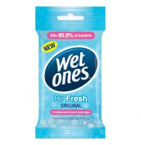 Wet Ones Be Fresh Original Wipes 15 Pack