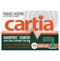 Cartia Low Dose Aspirin 100mg 168 Tablets