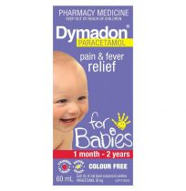 Dymadon For Babies 1 Month - 2 Years Strawberry 60ml