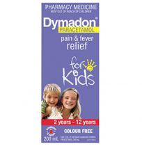 Dymadon Kids Paracetamol 2 - 12 Years Strawberry 200ml