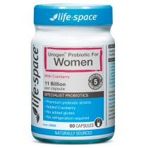 Life Space Probiotic Cranberry Urogen For Women 60 Capsules