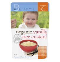 Bellamy's Organic Vanilla Rice Custard 125g