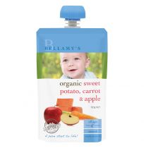 Bellamy's Organic Sweet Potato, Carrot & Apple 120g