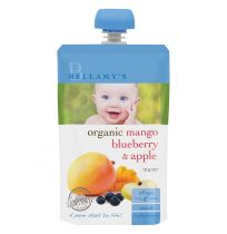 Bellamy's Organic Mango, Blueberry & Apple 120g