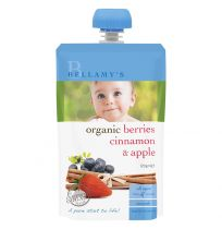 Bellamy's Organic Berries, Cinnamon & Apple 120g