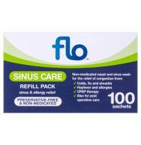 Flo Sinus Care Refill Sachets 100 Pack