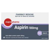 Mayne Pharma Aspirin 100mg 112 Tablets