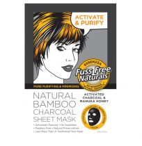 Essenzza Natural Facial Mask Charcoal Pore Purifying & Minimising 1 Pack