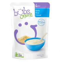 Bubs Organic Rice Cereal 4+ Months 125g