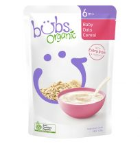 Bubs Organic Oats Cereal 6+ Months 125g