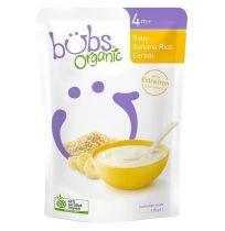 Bubs Organic Banana Rice Cereal 125g