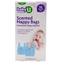 babyU Scented Nappy Bags 50 Pack