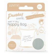 Pandas by LuvMe Wet n Dry Nappy Bag Woodlands