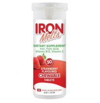 Iron Melts Chewable 50 Tablets
