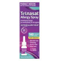 Telnasal Allergy Spray 140 Dose