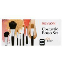 Revlon Cosmetic Brush Set Plus Revlon Pencil Sharpener