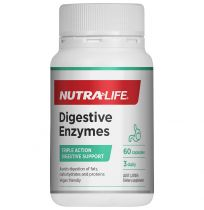 Nutra Life Digestive Enzymes 60 Capsules