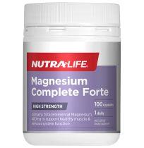 Nutra Life Magnesium Complete Forte 100 Capsules