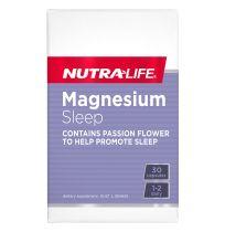 Nutra Life Magnesium Sleep 30 Capsules