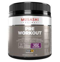 Musashi Pre Workout Powder Purple Grape 225g