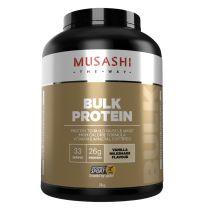 Musashi Bulk Protein Powder Vanilla Milkshake 2KG
