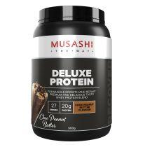 Musashi Deluxe Protein Chocolate Peannut 900G
