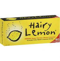 Hairy Lemon Effervescent Tablets 40 Pack