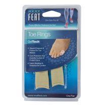 Neat Feat Gel Toe Rings 1 Pair