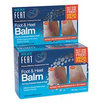 Neat Feet Heel Balm 2 for 1 Value Pack 120g