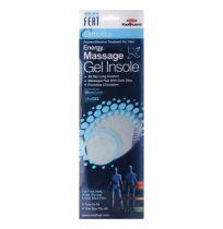 Neat Feat Orthotics Energy Massage Gel Insole Men