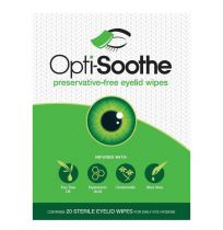 Opti Soothe Eye Lid Wipes 20 Pack